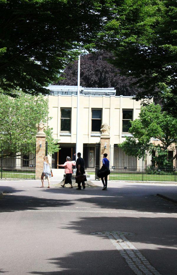 Wolfson College Entrance